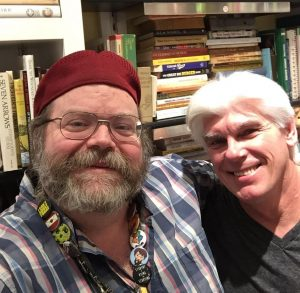Bookbrokers & Kramer's Cafe - Dan (DOC) McDougall with Author, Terry Swejkoski