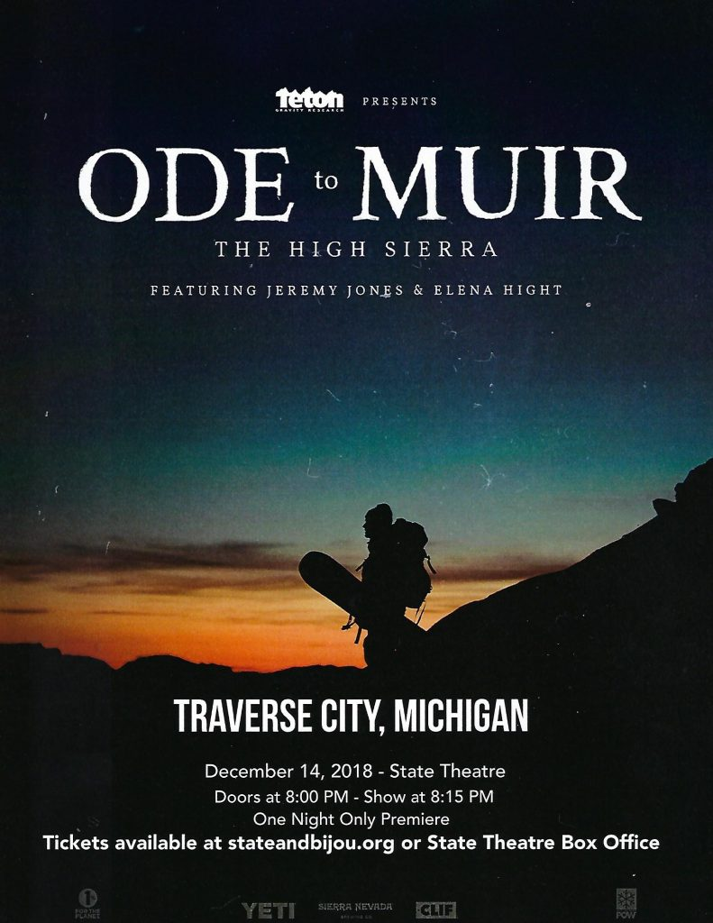 Inspire Ski and Snowboard Club - ODE to MUIR - State Theatre